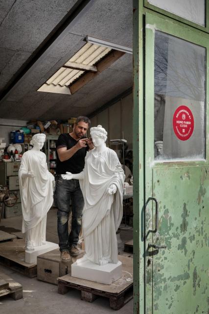 Atelier Vincent du Bois_Jess Hoffman©Michelangelo Foundation