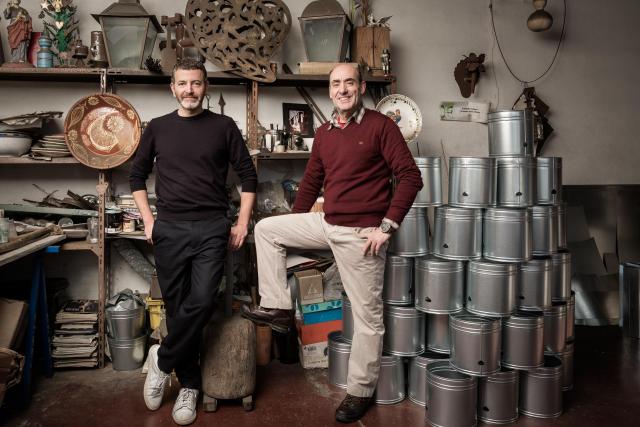 Christian Haas and José Vieira © Laila Pozzo per Doppia Firma   MFCC FCMA Living