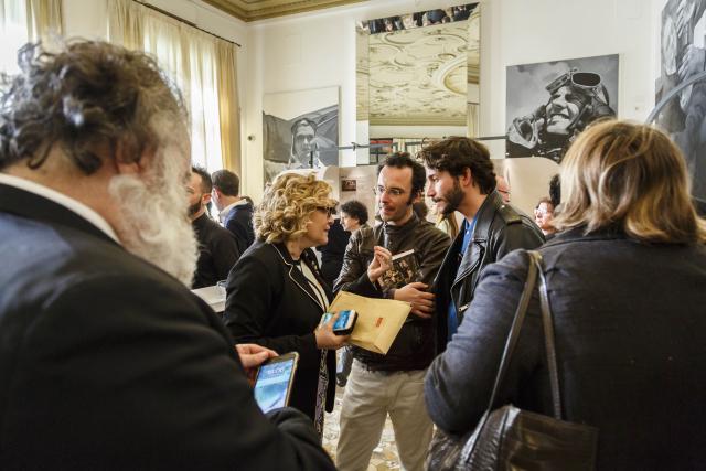 Doppia Firma - 8 Apr 19 - Jean Blanchaert, Alessandra de Nitto, Domenico Rocca, Alberto Nespoli © Luca Rotondo