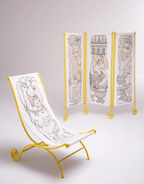 Giovanni Bonotto Artisan Barnaba Fornasetti Designer©Laila Pozzo per Doppia Firma 21 MFCC, FCMA, Living