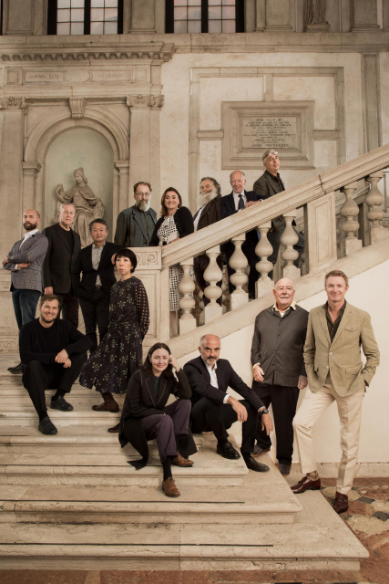 Homo Faber Curators and Designers with Founder Franco Cologni and Executive Directors Fabienne Lupo and Alberto Cavalli_Laila Pozzo©Michelangelo Foundation