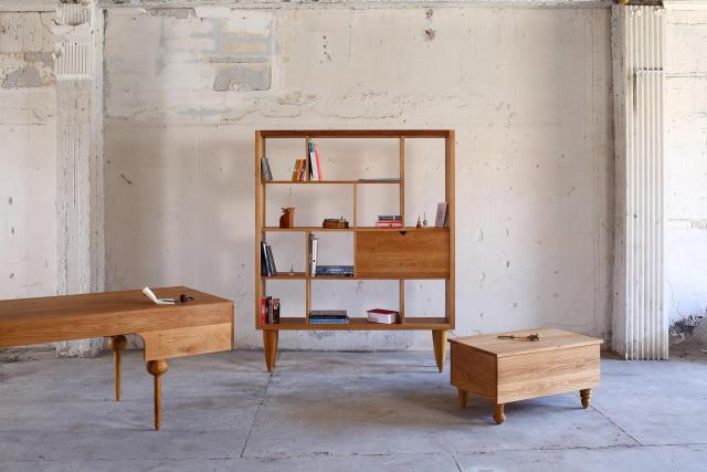 Series of Oak furniture Navid Gholipour Artisan©lovenlight design