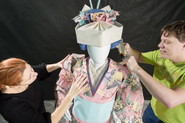 Stylised Japanese Costume_Asya Kozina & Dmitriy Kozin Artisans©All rights reserved