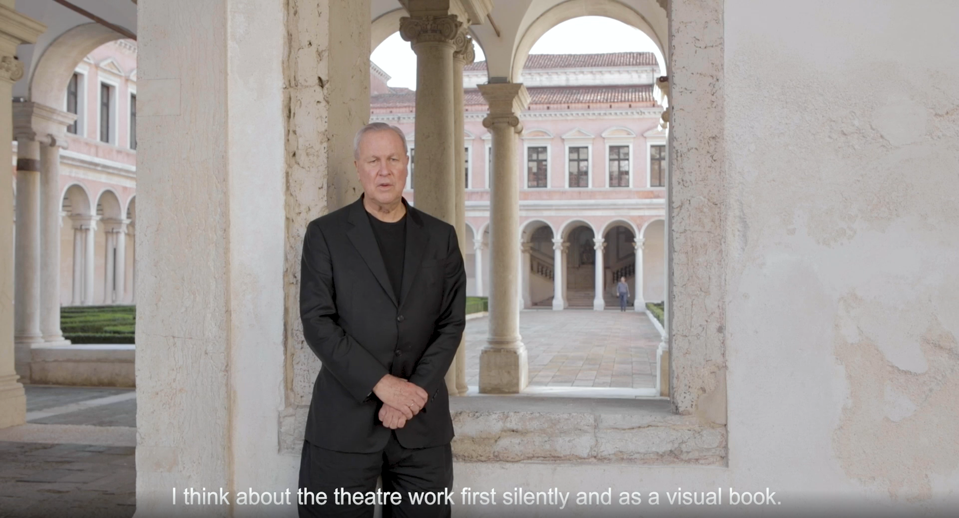 Interview with Robert Wilson Curator_Emanuele Zamponi©Michelangelo Foundation