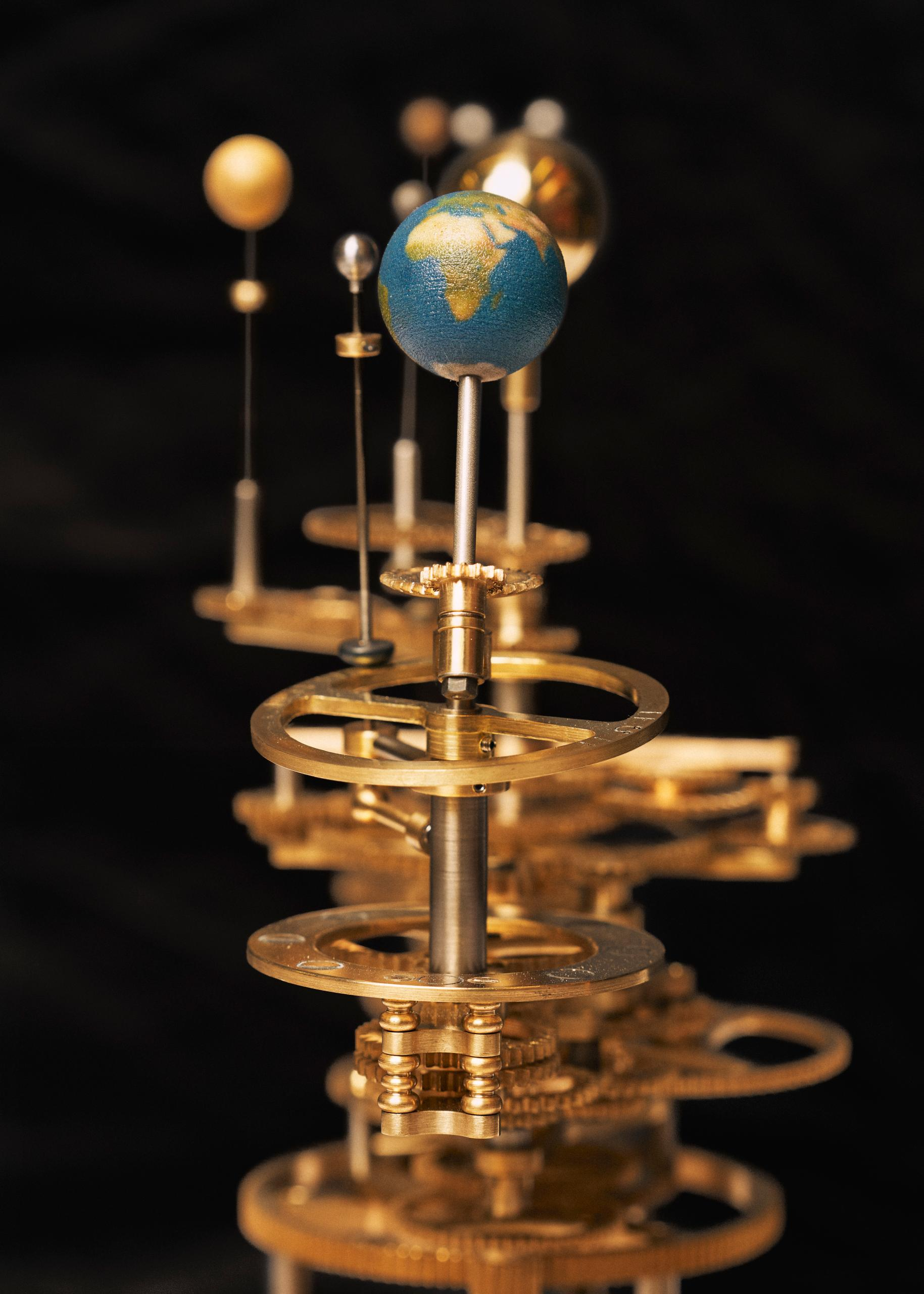 Orrery Staines and Son Artisans Marco Kesseler©Michelangelo Foundation