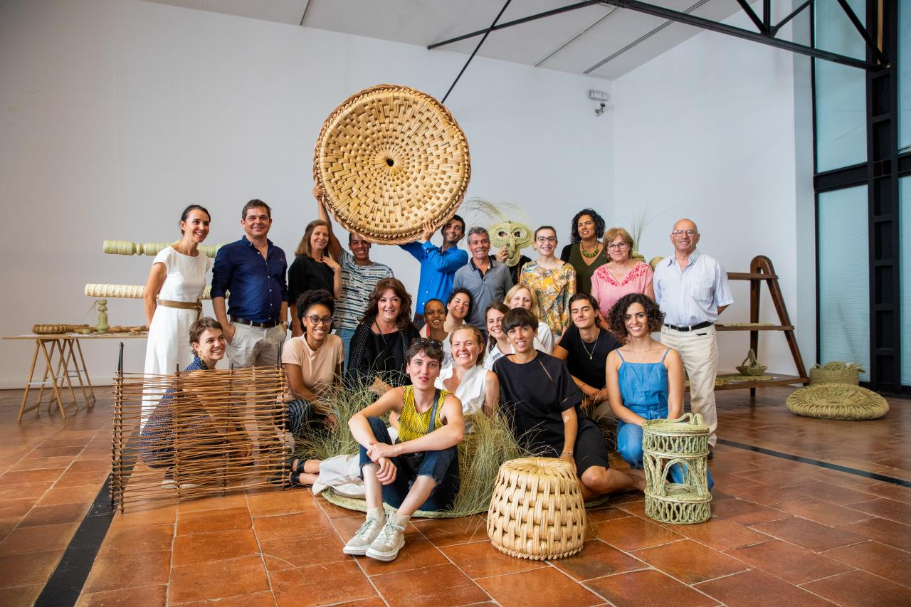 Students Summer School 2019 Portuguese Basket Technology Jenna Duffy © Michelangelo Foundation