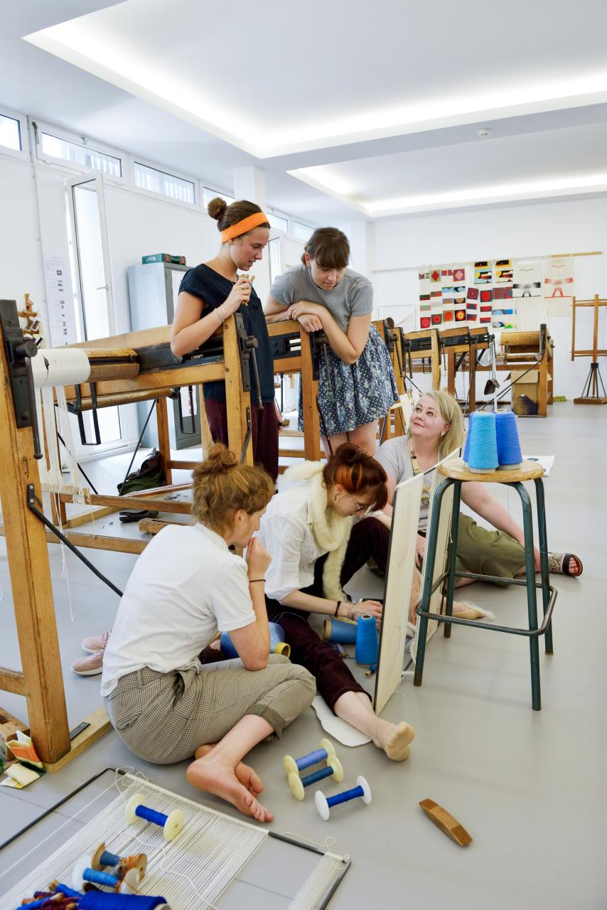 Summer School 2019 Aubusson Tapestry Lola Moser©Michelangelo Foundation