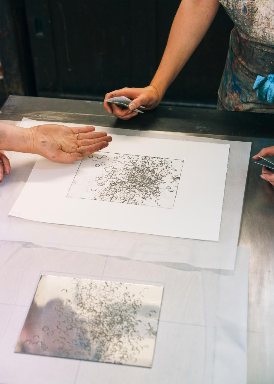 Summer School 2019 London Etching Marco Kesseler©Michelangelo Foundation