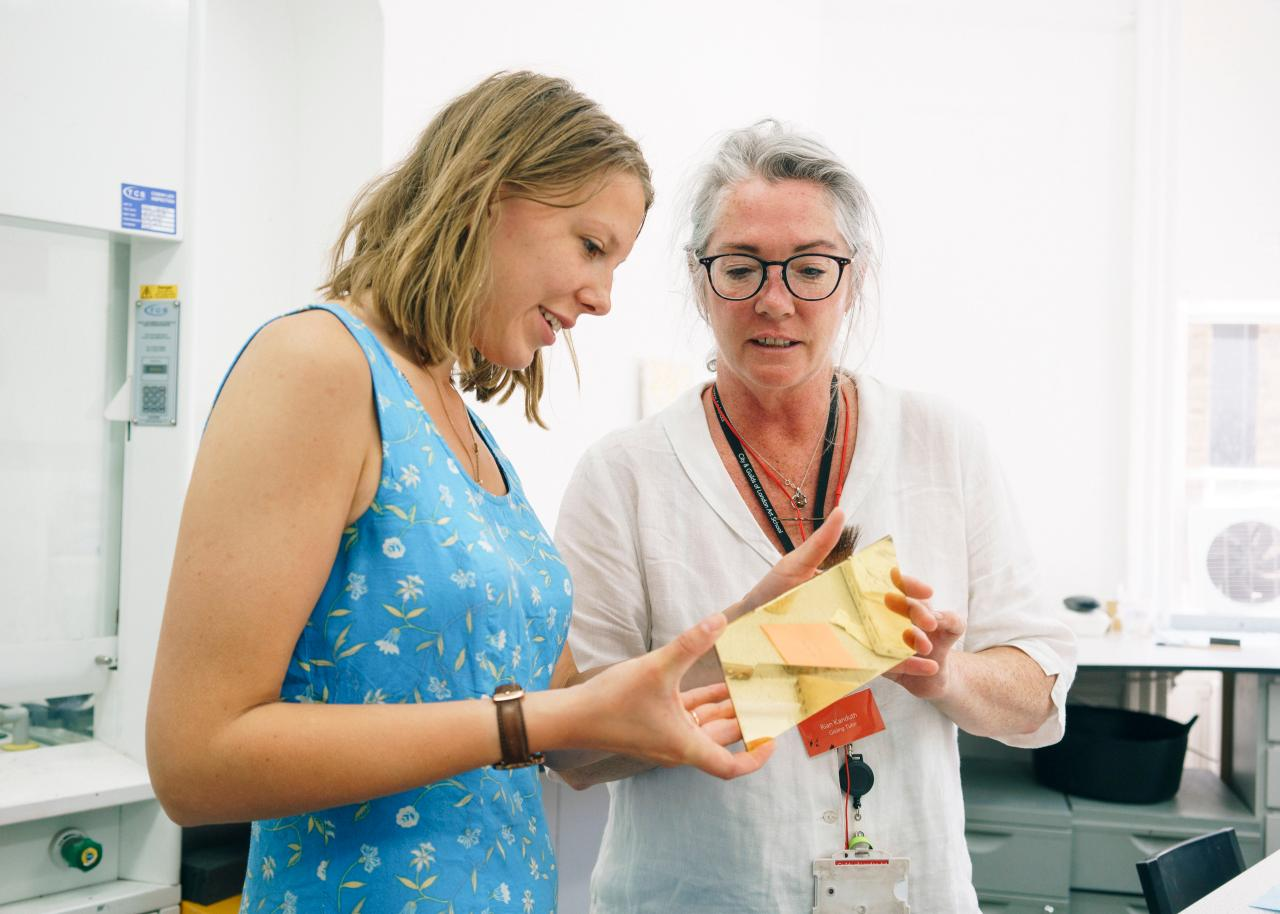 Summer School 2019 London Gilding Marco Kesseler©Michelangelo Foundation
