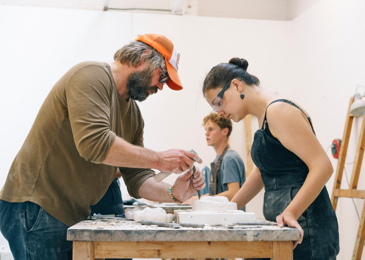 Summer School 2019 London Stone Carving Marco Kesseler©Michelangelo Foundation