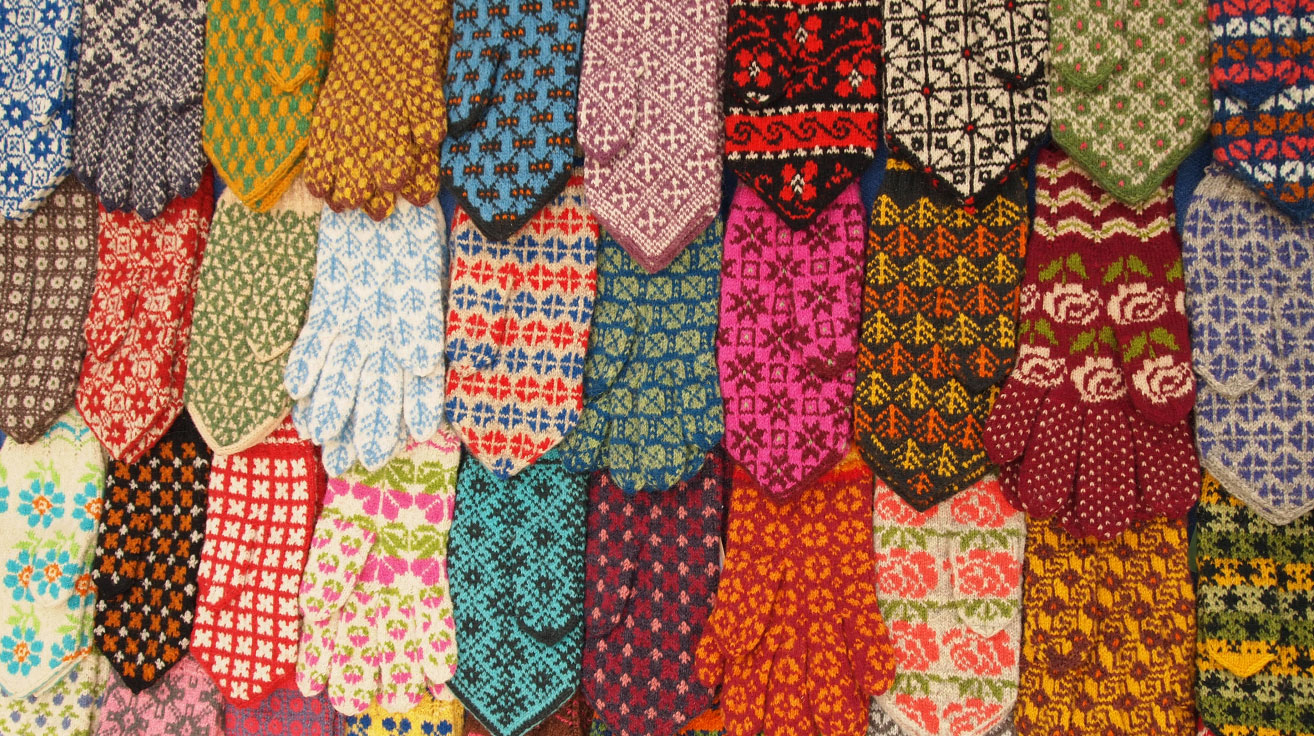 3aed415e948 The Estonian Folk Art and Craft Union gives out the Certified Estonian  Artisanal Craft label. One qualified product are these traditional mittens.